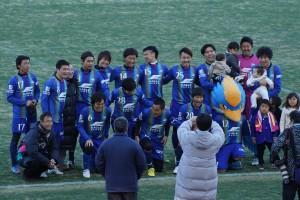 町田サッカー協会指導者チームと町田レジェンドチーム(ゼルビアOB)の試合