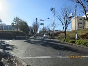 山崎中学校入口